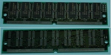16mb (4Mx32) 72 pin simm