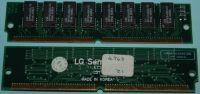 1Mx32 (4MB) 72 pin simm LG