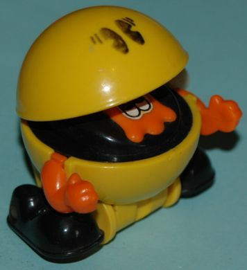 Pac-man wind-up toy