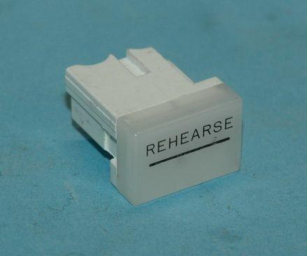 Rehearse button cap