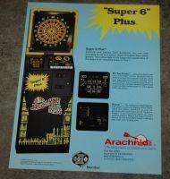 Super 6 Plus dartboard