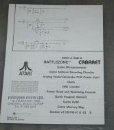 Battlezone Cabaret Schematic sheet 2
