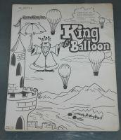 King And Balloon