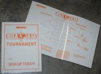 NBA JAM Tournament Edition Posters