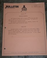 Atari Service Bulletin B-0050 Sprint 4