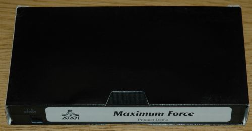 Maximum Force Product Demo VHS